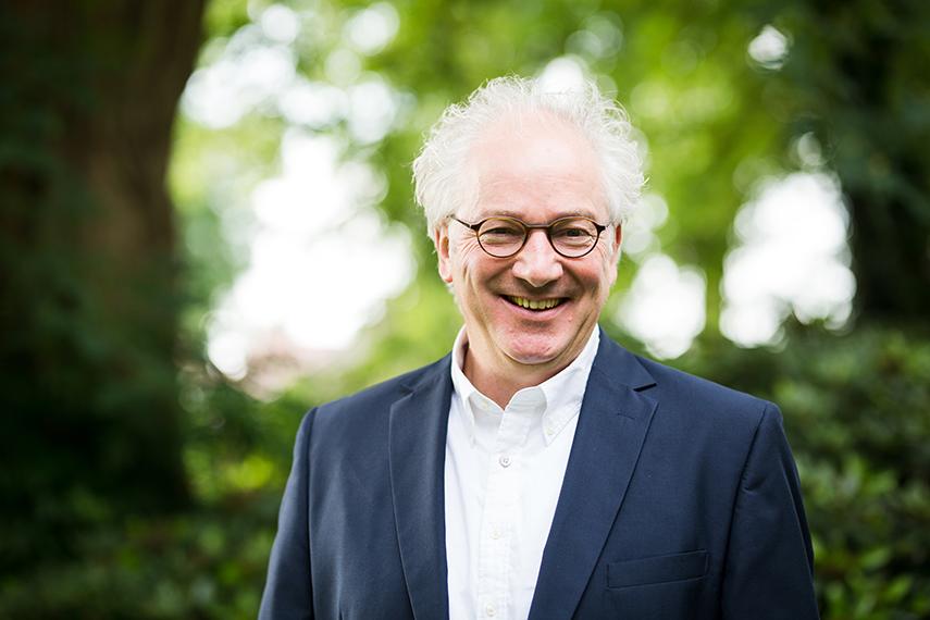 Ben Platzer, directeur van de Maat te Ommen