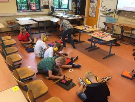Handenarbeid in de klas