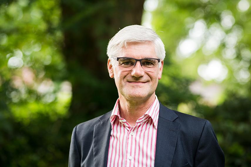 Oetze Wiersma is directeur van stichting Aquila