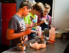 koken met leerlingen
